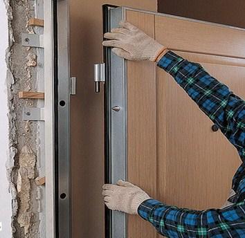 Как самостоятельно сделать железную дверь